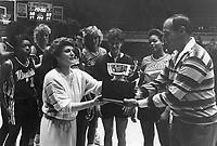 29 December 1986:  Lucky Cardinal Classic Tournament Champions Virginia Cavaliers.