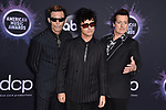 Mike Dirnt, Billie Joe Armstrong, and Tré Cool of Green Day attend the 2019 American Music Awards at Microsoft Theater on November 24, 2019 in Los Angeles, CA, USA. Photo by Lionel Hahn/ABACAPRESS.COM