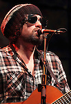 Michael Glabicki of the rock band Rusted Root performs at World Café Live at the Queen Theater in Wilmington, Delaware April 19, 2011..Copyright EML/ RockinExposures.com.