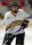 6 January 2007: University of Vermont forward Brayden Irwin (5) from Toronto, ON, in action against the University of New Hampshire Wildcats at Gutterson Fieldhouse in Burlington, Vermont. The Wildcats defeated Vermont 2-1 to sweep the two-game weekend series in front of a record setting 49th consecutive sellout at the Gut...Mandatory Photo Credit: Ed Wolfstein Photo.<br />