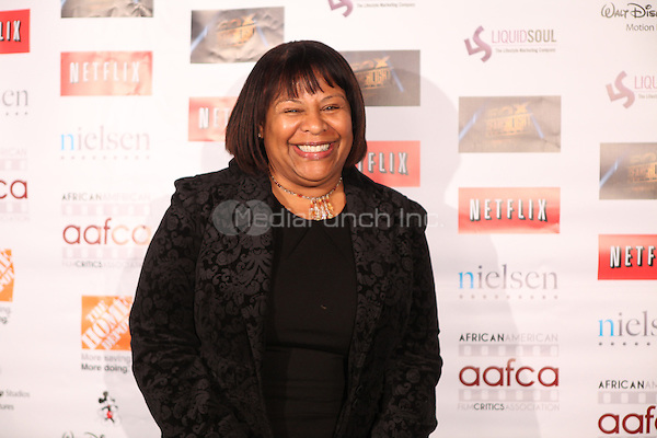 LOS ANGELES, CALIFORNIA - JANUARY 31: Paula Newton at the African American Film Critics Association 5th Annual Awards Dinner on Friday Jan 31st, 2014  at the Taglyan Cultural Complex in Los Angeles, California. Photo Credit: RTNjohnson/MediaPunch.