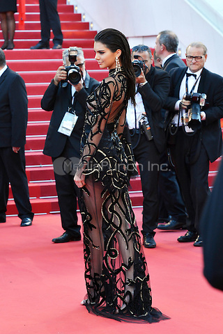 Kendall Jenner at the &acute;Mal de Pierres` screening during The 69th Annual Cannes Film Festival on May 15, 2016 in Cannes, France.<br /> CAP/LAF<br /> &copy;Lafitte/Capital Pictures /MediaPunch ***NORTH AND SOUTH AMERICA ONLY***