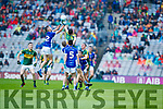 Kerry in action against  Cavan in the All Ireland Minor Semi Final in Croke Park on Sunday.