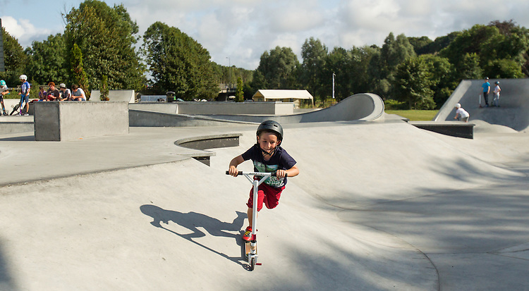 Ben  Haverfordwest Skateboard Park  6th August 2014