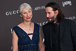 Beverly Hills, CA - NOVEMBER 02: Keanu Reeves at the 2019 LACMA Art + Film Gala held at the Los Angeles County Museum of Art in Los Angeles, California on November 2nd, 2019. Credit: Tony Forte/MediaPunch