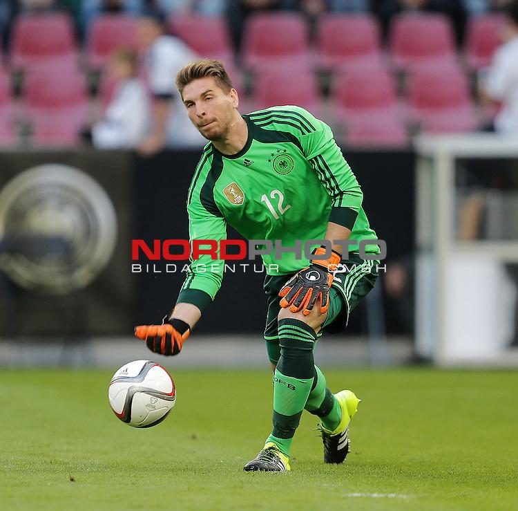 DFB Freundschaftsl&auml;nderspiel, Deutschland vs. USA<br /> Ron-Robert Zieler (Deutschland)<br /> <br /> Foto &copy; nordphoto /  Bratic