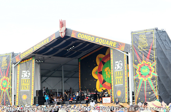 May 3, 2019 New Orleans, La: Singer Gladys Knight performs at the 50th Anniversary of New Orleans Jazz & Heritage Festival on May 3, 2019 in New Olreans, La.