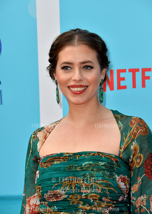 "Lauren Miller Rogen at the Los Angeles premiere of ""Like Father"" at the Arclight Theatre, Los Angeles, USA 31 July 2018<br /> Picture: Paul Smith/Featureflash/SilverHub 0208 004 5359 sales@silverhubmedia.com"