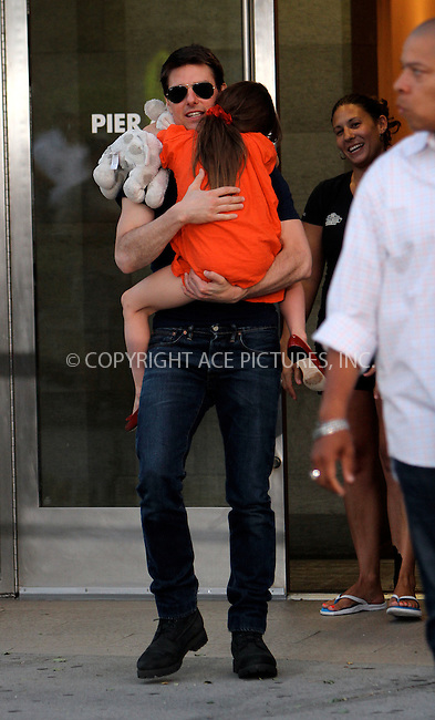WWW.ACEPIXS.COM . . . . .  ....July 17 2012, New York City....Actor Tom Cruise took his daughter Suri Cruise to Chelsea Piers on July 17 2012 in New York City....Please byline: NANCY RIVERA- ACEPIXS.COM.... *** ***..Ace Pictures, Inc:  ..Tel: 646 769 0430..e-mail: info@acepixs.com..web: http://www.acepixs.com