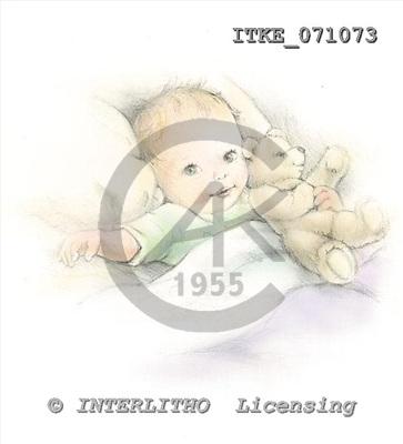 Isabella, BABIES, paintings, ITKE071073,#b# bébé, illustrations, pinturas ,everyday