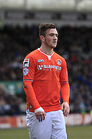 Jack Marriott of Luton Town during the Sky Bet League 2 match between Plymouth Argyle and Luton Town at Home Park, Plymouth, England on 19 March 2016. Photo by Liam Smith.