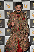 Bobby Friction<br /> arriving for the RTS Awards 2019 at the Grosvenor House Hotel, London<br /> <br /> ©Ash Knotek  D3489  19/03/2019