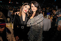 MADRID, SPAIN - NOVEMBER 10: Dulceida and Penelope Cruz attend the 40 Music Awards press room at WiZink Center on November 10, 2017 in Madrid, Spain. Credit: Jimmy Olsen/MediaPunch ***NO SPAIN*** /NortePhoto.com
