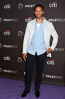 """LOS ANGELES - SEP 7:  Tunji Kasim at the PaleyFest Fall TV Preview - """"Nancy Drew"""" at the Paley Center for Media on September 7, 2019 in Beverly Hills, CA"""