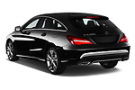 Car pictures of rear three quarter view of 2017 Mercedes Benz CLA-Class - 5 Door wagon Angular Rear