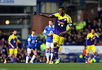 Pictured: Roland Lamah of Swansea.  Sunday 16 February 2014<br />