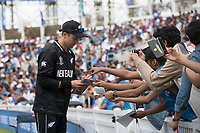 Trent Boult (New Zealand) signs autographs for fans during India vs New Zealand, ICC World Cup Warm-Up Match Cricket at the Kia Oval on 25th May 2019