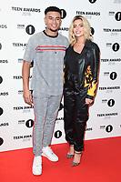 Wez Nelson and Megan Barton-Hanson<br /> arriving for the Radio 1 Teen Awards 2018 at Wembley Stadium, London<br /> <br /> ©Ash Knotek  D3454  21/10/2018