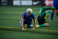 Seattle, WA - Saturday, July 1, 2017:  Megan Rapinoe during a regular season National Women's Soccer League (NWSL) match between the Seattle Reign FC and the Portland Thorns FC at Memorial Stadium.