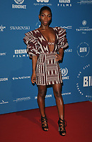 Michaela Coel at the British Independent Film Awards (BIFA) 2018, Old Billingsgate Market, Lower Thames Street, London, England, UK, on Sunday 02 December 2018.<br /> CAP/CAN<br /> &copy;CAN/Capital Pictures
