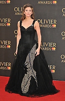 Summer Strallen at the Olivier Awards 2018, Royal Albert Hall, Kensington Gore, London, England, UK, on Sunday 08 April 2018.<br /> CAP/CAN<br /> &copy;CAN/Capital Pictures<br /> CAP/CAN<br /> &copy;CAN/Capital Pictures