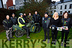 Members of the Southwest Motorcycle Club launching their fundraising event,  which is going been held on the 28th December in Lixnaw. <br /> Front l to r: John Foley, Anita Nolan and Mags Foley.<br /> Back l to r: Seamus Flaherty (bike), Johnny Downey, Colm Farmer, Paul O'Sullivan, Jimmy Doyle and Liam Counihan.