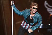 Bon Jovi performs at the 45th Festival d'ete de Quebec on the Plains of Abraham in Quebec city Monday July 9, 2012. The Festival d'ete de Quebec is Canada's largest music festival with more than 1000 artists and close to 300 shows over 11 days.