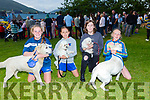 Pictured at the Cahersiveen Dog Show on Friday night were l-r: Ciara Clifford with Cody, Katie Foster with Limo, Paris McCarthy with Milo & Katie O'Connell with Pixie.