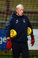 Coventry City Goalkeeping Coach Steve Ogrizovic looks on<br /> <br /> Photographer Richard Martin-Roberts/CameraSport<br /> <br /> The EFL Sky Bet League One - Fleetwood Town v Coventry City - Tuesday 27th November 2018 - Highbury Stadium - Fleetwood<br /> <br /> World Copyright &not;&copy; 2018 CameraSport. All rights reserved. 43 Linden Ave. Countesthorpe. Leicester. England. LE8 5PG - Tel: +44 (0) 116 277 4147 - admin@camerasport.com - www.camerasport.com