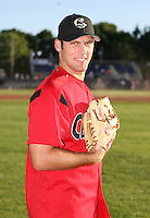 2007:  Joe Savery of the Williamsport Crosscutters, Class-A affiliate of the Philadelphia Phillies, during the New York-Penn League baseball season.  Photo By Mike Janes/Four Seam Images