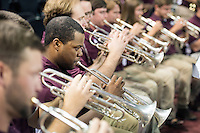 2016 Fall Convocation in Humphrey Coliseum: band performance.<br />  (photo by Megan Bean / &copy; Mississippi State University)