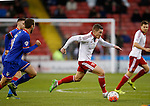 Paul Coutts of Sheffield Utd surges forward - FA Cup Second round - Sheffield Utd vs Oldham Athletic - Bramall Lane Stadium - Sheffield - England - 5th December 2015 - Picture Simon Bellis/Sportimage