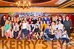 Kevin Keane from Glenflesk celebrated his 21st birthday surrounded by friends and family in the Avenue Hotel, Killarney last Saturday night.