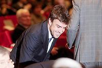 Formula one driver Fernando Alonso during the ceremony to designate ambassadors of the Brand Spain. February 12, 2013. (ALTERPHOTOS/Alvaro Hernandez) /NortePhoto