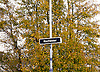 Rochester <br /> by-election campaign <br /> in the run up to the election on 20th November 2014 <br /> atmosphere of area, campaigners and people around Rochester, Kent, Great Britain <br /> 15th November 2014 <br /> <br /> sign at Rochester railway station <br /> <br /> <br /> <br /> Photograph by Elliott Franks <br /> Image licensed to Elliott Franks Photography Services