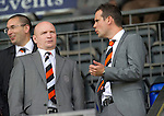 St Johnstone v Dundee United....01.09.12      SPL  .Dundee Utd Chairman Stephen Thompson (left).Picture by Graeme Hart..Copyright Perthshire Picture Agency.Tel: 01738 623350  Mobile: 07990 594431