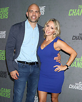 September 09, 2019 James Wilks, Alicia Wilks, attend the premiere of The Game Changers  at the Regal Battery Park in New York. September 09, 2019 <br /> CAP/MPI/RW<br /> ©RW/MPI/Capital Pictures