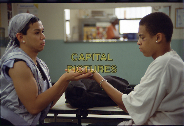 JON NORMAN SCHNEIDER & JONAN EVERETT.in Angel (Angel Rodriguez)  .**Editorial Use Only**.CAP/FB.Supplied by Capital Pictures