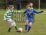 Termonfeckin Emily Fitzpatrick Ardee Celtic Abigail Martin. Photo:Colin Bell/pressphotos.ie