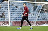 Burnley's Nick Pope during the pre-match warm-up <br /> <br /> Photographer Rich Linley/CameraSport<br /> <br /> Emirates FA Cup Third Round - Burnley v Barnsley - Saturday 5th January 2019 - Turf Moor - Burnley<br />  <br /> World Copyright &copy; 2019 CameraSport. All rights reserved. 43 Linden Ave. Countesthorpe. Leicester. England. LE8 5PG - Tel: +44 (0) 116 277 4147 - admin@camerasport.com - www.camerasport.com