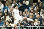 Real Madrid's Marcelo Vieira during La Liga match. March 20,2016. (ALTERPHOTOS/Acero)
