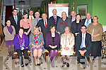 Groups who was honoured at the Kerry Community Awards in the Dromhall Hotel Killarney last Friday was front row l-r: Mairead Downey, Siobhain Murphy, Siobhain Griffin, Mary Prendergast, Tom Curran. Back row: Louise Bourke, Patrick, Triona Murphy, Chris Barrow, Brendan Doran, John Breen Sean Quinlan, Paddy O'Callaghan, Pat Mitchell, Nicola Lawless, John Pierce and Sheila Casey.