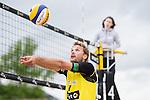 09.05.2015, Muenster, Schlossplatz<br /> smart beach tour, Supercup MŸnster / Muenster, Hauptfeld<br /> <br /> Zuspiel Armin Dollinge<br /> <br />   Foto &copy; nordphoto / Kurth