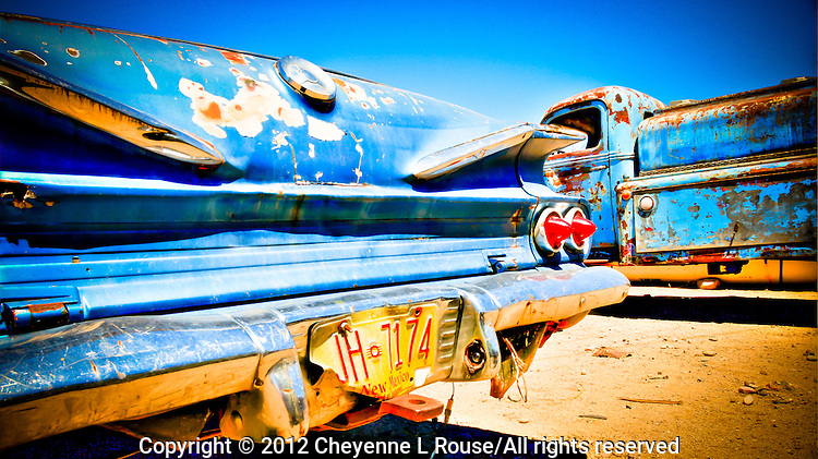 1960 El Camino with New Mexico plates - Wickenburg, Arizona