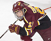 Brendan Connolly - The Ferris State Bulldogs defeated the University of Denver Pioneers 3-2 in the Denver Cup consolation game on Saturday, December 31, 2005, at Magness Arena in Denver, Colorado.