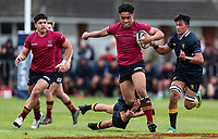 Auckland 1st XV Rugby A1 Semi Final, Kings College v Auckland Grammar, Kings College, Auckland, Saturday 17 August 2019. Photo: Simon Watts/www.bwmedia.co.nz