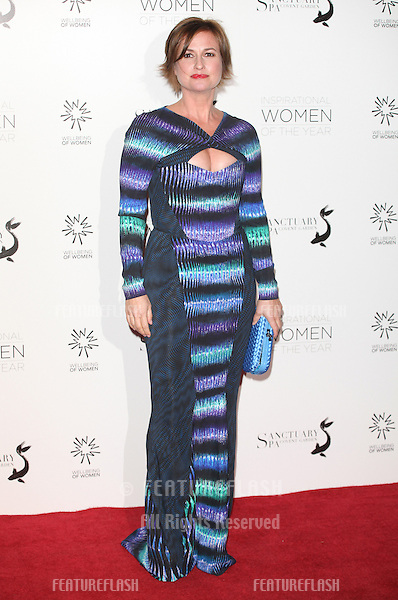 Emma Forbes arriving for the Daily Mail Inspirational Women of the Year Awards in support of Wellbeing of Women held at the Marriott Hotel, London. 12/11/2012 Picture by: Alexandra Glen / Featureflash