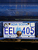 A Nova Scotia license plate. Photo by Kevin J. Miyazaki/Redux