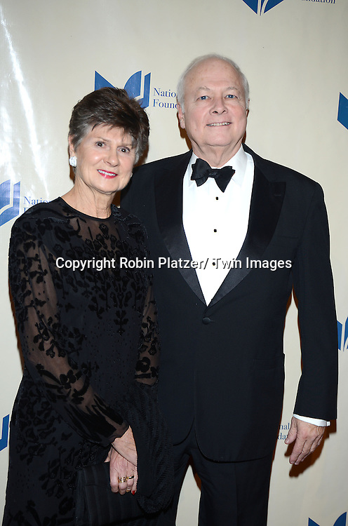 Susan and Donald Brant attend the 2013 National Book Awards Dinner and Ceremony on November 20, 2013 at Cipriani Wall Street in New York City.