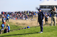 Webb Simpson (Team USA) at the 9th green during Saturday's Foursomes Matches at the 2018 Ryder Cup 2018, Le Golf National, Ile-de-France, France. 29/09/2018.<br /> Picture Eoin Clarke / Golffile.ie<br /> <br /> All photo usage must carry mandatory copyright credit (&copy; Golffile | Eoin Clarke)